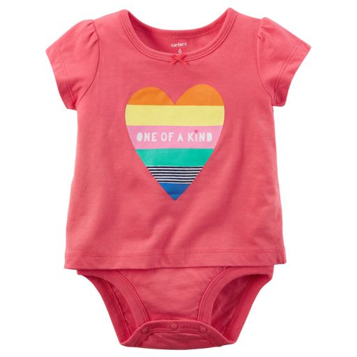 """Baby Girl Carter's """"One of a Kind"""" Bodysuit"""