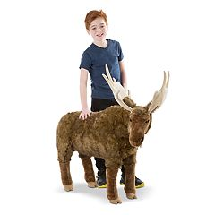 Melissa & Doug Moose Plush