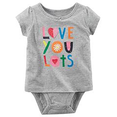 Baby Girl Carter's 'Love You Lots' Bodysuit