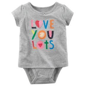 "Baby Girl Carter's ""Love You Lots"" Bodysuit"
