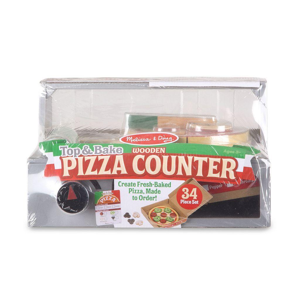 Melissa & Doug Top & Bake Pizza Courier