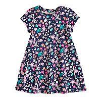Baby Girl Jumping Beans® Print Swing Dress