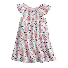 Baby Girl Jumping Beans® Dot Swing Dress