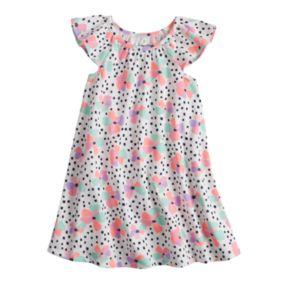 Baby Girl Jumping Beans® Dot Swing Dress