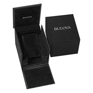 Bulova Men's Modern Diamond Black Ion-Plated Stainless Steel Watch - 98D144