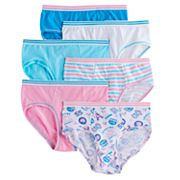 Girls 4-16 Hanes 6 pkCoolDRI Comfort Briefs