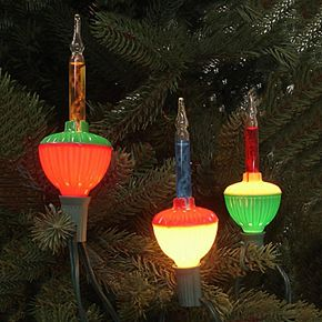 7 multi colored retro bubble indoor outdoor christmas lights