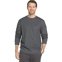 Big & Tall IZOD Advantage Sportflex Regular-Fit Solid Performance Fleece Sweatshirt