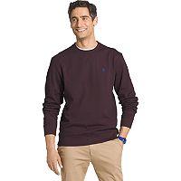 Big & Tall IZOD Advantage Sportflex Regular-Fit Solid Performance Fleece Sweatshirt