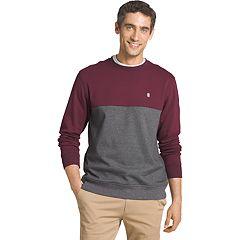 Big & Tall IZOD Advantage Sportflex Regular-Fit Colorblock Performance Fleece Pullover