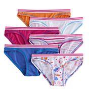 Girls 4-16 Hanes 6 pkCoolDRI Comfort Bikini Panties