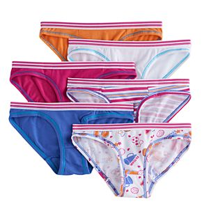 41b10eb05 Girls 6-16 Hanes 5-pk. Tagless Bikini Panties. Regular