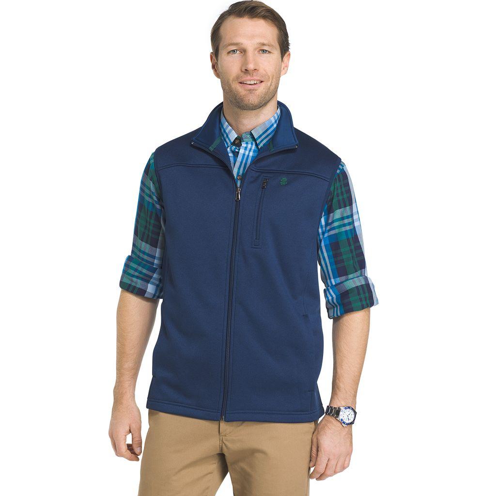 Big & Tall IZOD Advantage Sportflex Regular-Fit Performance Fleece Vest