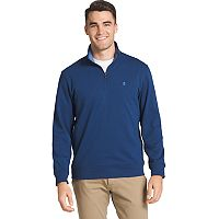 Big & Tall IZOD Advantage Regular-Fit Performance Quarter-Zip Fleece Pullover