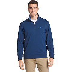 Big & Tall IZOD Advantage Regular-Fit Performance Quarter-Zip Fleece Pullover