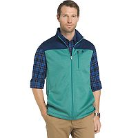 Big & Tall IZOD Advantage Sportflex Regular-Fit Fleece Vest