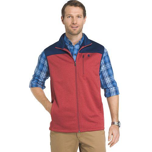 Big & Tall IZOD Advantage Sportflex Regular-Fit Fleece Vest