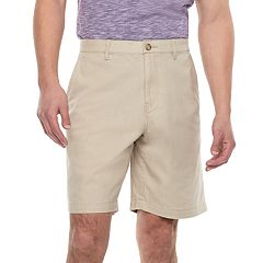 Men's Marc Anthony Slim-Fit Linen-Blend Flat-Front Shorts