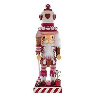 Kurt Adler Hollywood Nutcrackers Heart Christmas Floor Decor