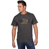 Men's Majestic Oakland Athletics Clubhouse Tee