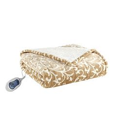 Beautyrest Adelynn Heated Snuggle Wrap Throw