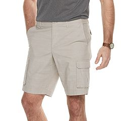 Men's Apt. 9® Premier Flex Regular-Fit Stretch Chambray Cargo Shorts