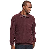 Big & Tall Safe Harbor Classic-Fit Banded-Bottom Polo