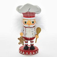 Kurt Adler Hollywood Nutcrackers Gingerbread Chef Christmas Table Decor
