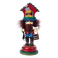 Kurt Adler Hollywood Nutcrackers Dog House Christmas Table Decor