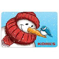 Snowman Scarf Gift Card