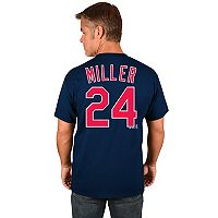 Men's Majestic Cleveland Indians Andrew Miller Replica Jersey