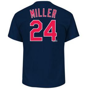 Men's Majestic Cleveland Indians Andrew Miller Replica Jersey