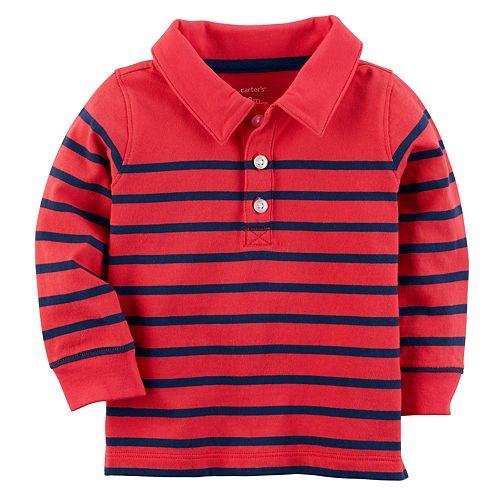 Baby Boy Carter's Striped Polo