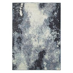 StyleHaven Easton Azul Haze Abstract Rug