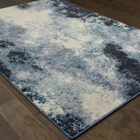 StyleHaven Easton Azul Haze Abstract Rug