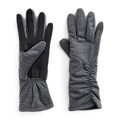 Women's UR Powered Asymmetric Ruched Stretch Tech Gloves