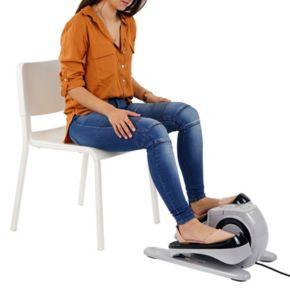 Sunny Health & Fitness Motorized Under Desk Elliptical Peddler