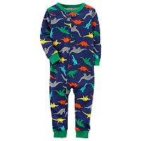 Baby Boy Carter's Dinosaur Print Footless Pajamas
