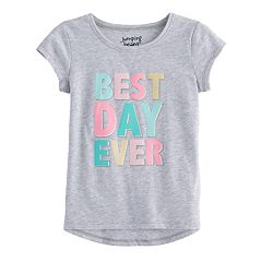 Toddler Girl Jumping Beans® 'Best Day Ever' Graphic Tee