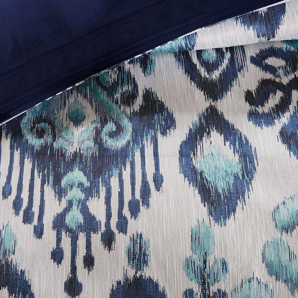 Madison Park Signature Seaglass Ikat Comforter Set
