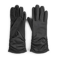 Women's Touchpoint Ruched Tech Gloves