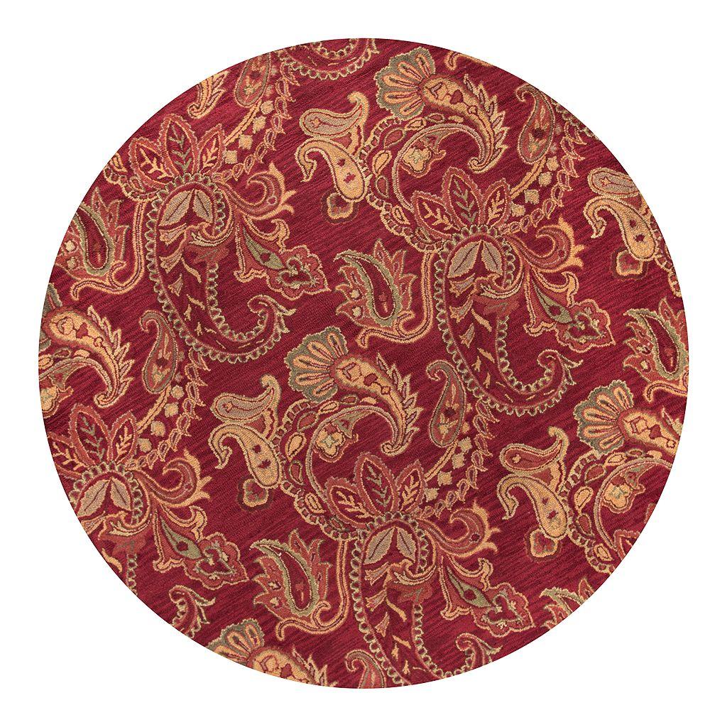 Rizzy Home Ashlyn Paisley Wool Rug