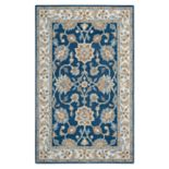 Rizzy Home Ashlyn Framed Floral II Wool Rug