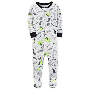 Toddler Boy Carter's Dinosaurs Footed Pajamas