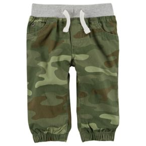 Baby Boy Carter's Camouflage Pull-On Jogger Pants
