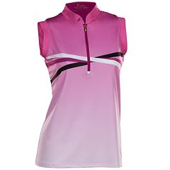Women's Nancy Lopez Maxi Sleeveless Golf Polo