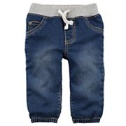 Baby Boy Carter's Pull-On Denim Jogger Pants