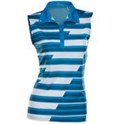 Women's Nancy Lopez Gear Sleeveless Golf Polo