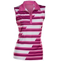 Women's Nancy Lopez Gear Sleeveless Golf Polo