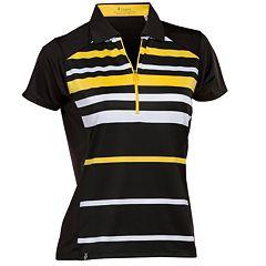 Women's Nancy Lopez Shock Short Sleeve Golf Polo